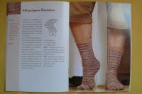 Spiral-Socken mit dem gewissen Extra / Laila Wagner (OZCreativ - 2011)