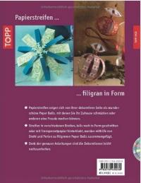 Weihnachtliche Paper Balls (Täubner-Molina) / Topp - 2011 mit CD