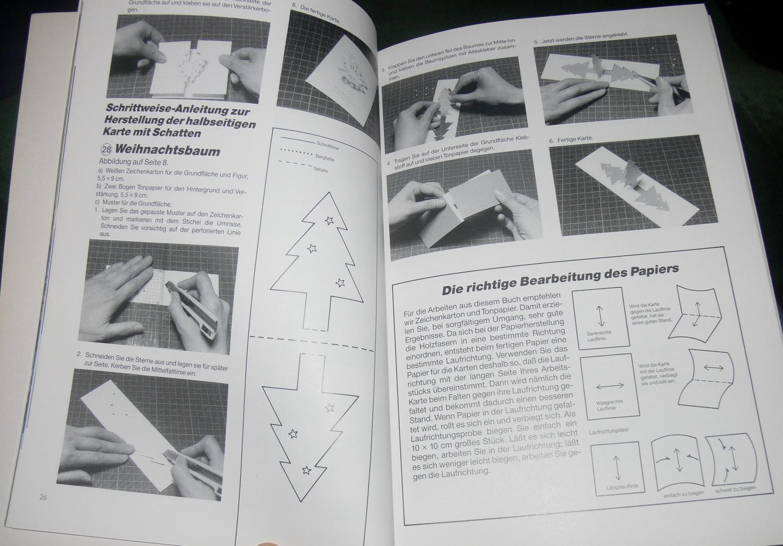 papier schneiden falten kleben