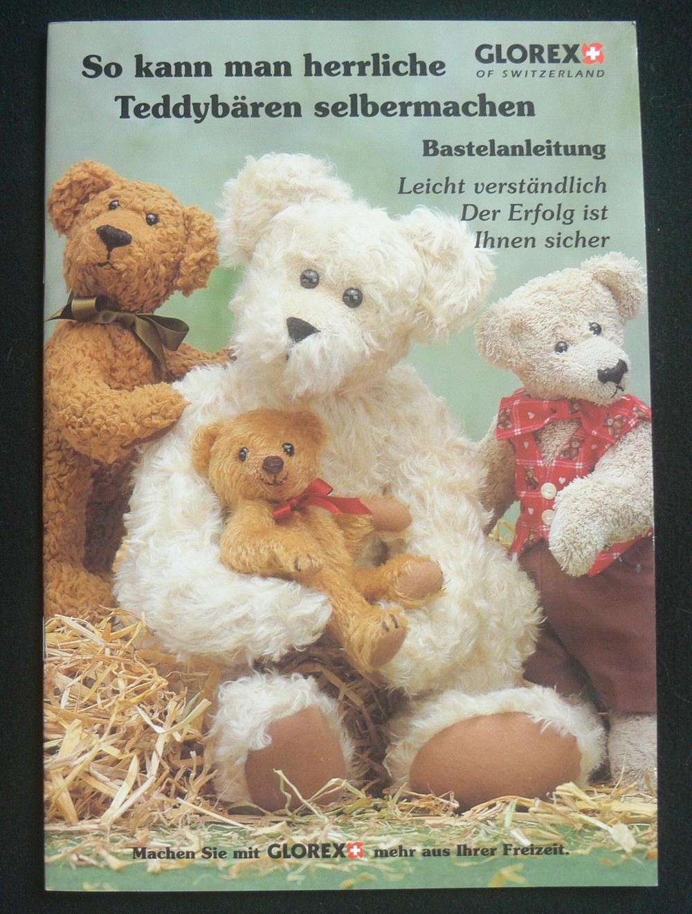 so kann man herrliche teddybären selbermachen (glorex)