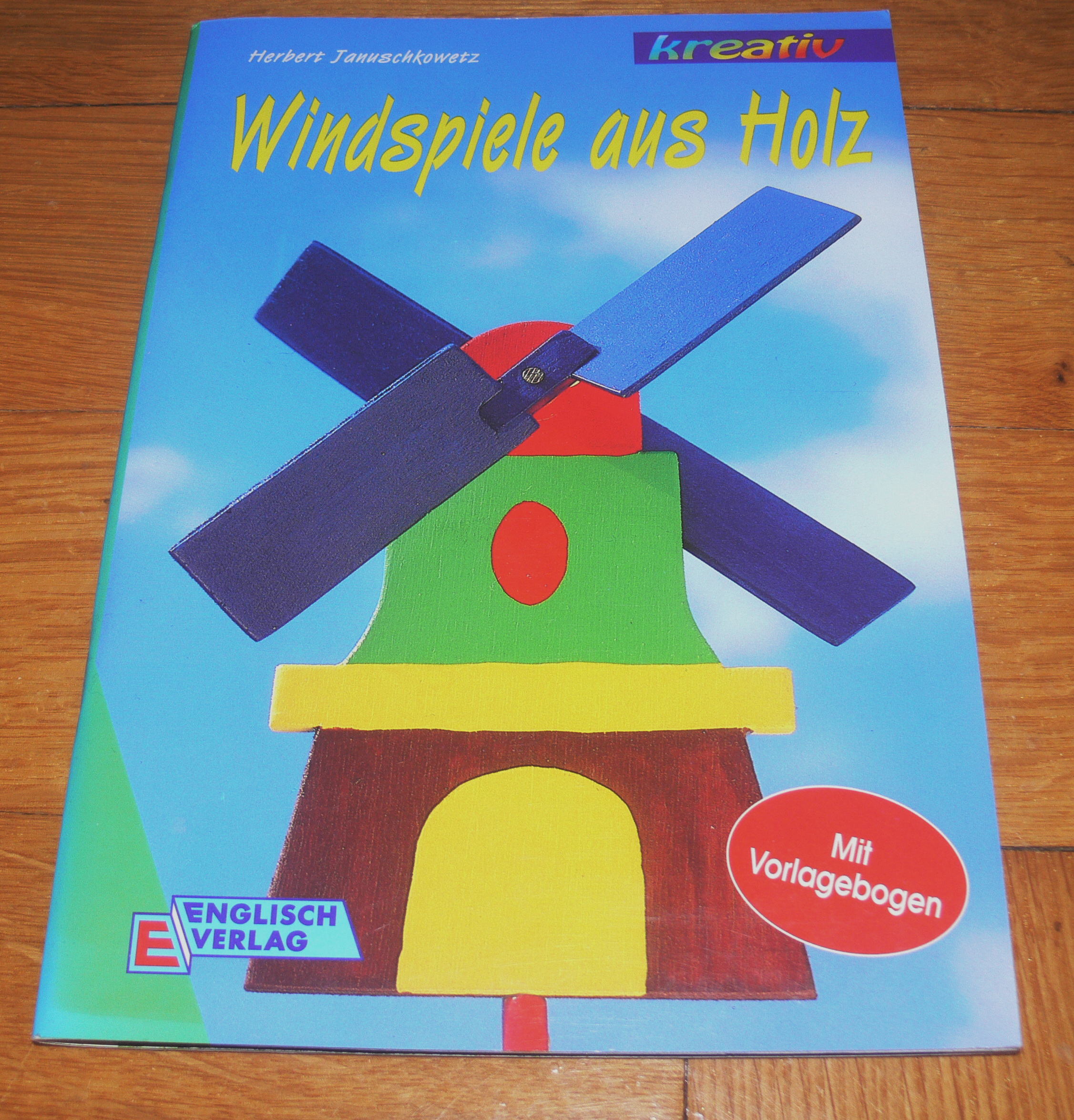 windspiele aus holz januschkowetz kreativ 1998. Black Bedroom Furniture Sets. Home Design Ideas
