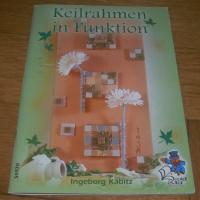 Keilrahmen in Funktion / Ingeborg Kabitz (Bücherzauber - 2005)