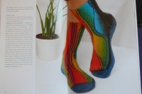 Swing-Socken / Heidrun Liegmann (OZCreativ - 2012)